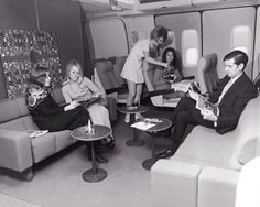 Braniff airliner in the 1960s