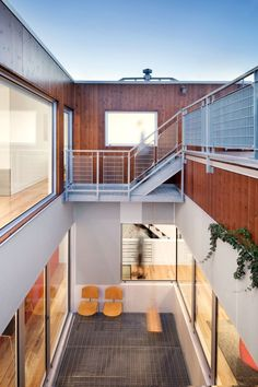 live here • stacked house • montreal, qc, canada • naturehumaine • photo: adrien williams • via arch daily