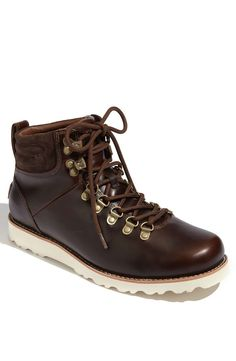 UGG Australia UGG® Australia 'Capulin' Boot (Men) | mens boots | mens hiking boots | mens style | menswear | mens fashion | wantering | brown leather boots