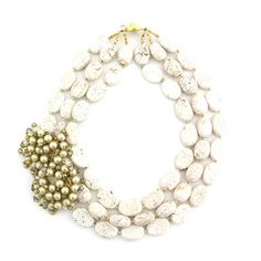 an Eco-friendly line of statement jewelry; expensive.....but beautiful!