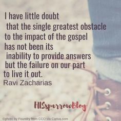 All-Time Awesome Quotes I have little doubt that the single greatest obstacle to the impact of the gospel has not been its inability to provide answers but the … Romantic Love Quotes, Love Quotes For Him, Quotes To Live By, Spiritual Quotes, Positive Quotes, Motivational Quotes, Gratitude Quotes, Favorite Quotes, Best Quotes