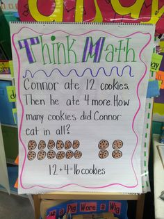 Life in First Grade: Math Fun, Anchor Chart, Objectives, and Centers