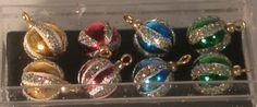 "Glitter Balls set of 6 #13 by Maryvonne Herholtz $38 5/16"""