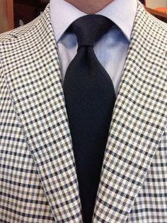 Sam Hober Tie: Midnight Blue Linen http://www.samhober.com/linen-ties/