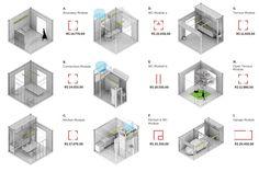 marcos franchini arquiteto house 3e30 - modular 3.3m house components