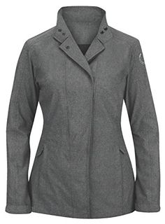 Irideon Ladies Stratus Rain Jacket April showers may bring May flowers, but they can also put a damper on barn chores and riding. This lightweight, packable, wa...
