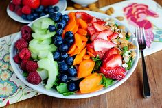 Inner Goddess Detox Salad by iowagirleats #Salad #Detox #iowagirleats