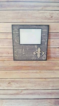 Picture Frame - Vintage Print Frame - French Country Decor - Up Cycled - Eco Friendly - READY TO SHIP by CraftyMcDaniel on Etsy https://www.etsy.com/listing/523221232/picture-frame-vintage-print-frame-french