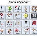These augmentative and alternative communication boards are intended for students who are verbal but have low intelligibility.Students with dysprax...