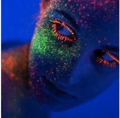 Trucchi Fluorescenti UV - Glitter Shaker
