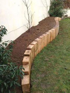 Landscape Edging Stone, Landscape Design, House Landscape, Front Yard Landscaping, Landscaping Edging, Landscaping Ideas, Outdoor Landscaping, Backyard Ideas, Fence Ideas