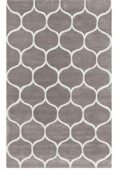Harris Modern Gray Rugs