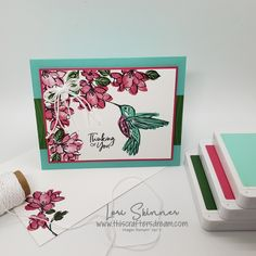 A Touch Of Ink / Stampin' Up! / Sale-A-Bration 2021 / #TCDCC9 This Crafters Dream Weekly Color Challenge Card Making Templates, Card Making Tutorials, Touch, Card Ideas, Bird Cards, Stamping Up Cards, Animal Cards, Catalogue, Creative Cards