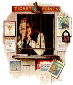 The Ticket Agent, April 24, 1937 | Flickr - Photo Sharing!