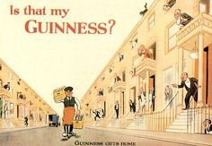 One of the many brilliant Guinness adverts! 1920s Advertisements, Retro Advertising, Vintage Ads, Vintage Posters, Art Posters, Guinness Advert, Beer Brands, London Museums, Luck Of The Irish