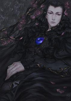 Flowers Art Print by Kokoko-sir - X-Small Character Inspiration, Character Art, Character Design, Ghost Drawing, Vampire Hunter D, Disney Princess Pictures, Vampire Art, Beautiful Fantasy Art, Manga