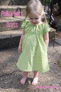 Adorable little dress tutorial