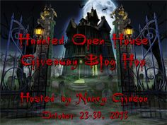 Haunted Open House Giveaway Blog Hop   I Smell Sheep