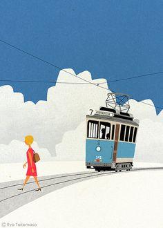 Tram, 2012, by Ryo Takemasa