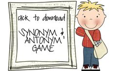Synonym & antonym games