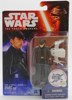 General Hux First Order Star Wars The Force Awakens Figure New MOC Mint On Card! #Hasbro