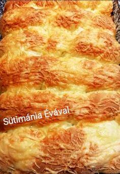Sajtos tejfölös kötél, gyorsan elkészíthető, finom, foszlós kelt tészta! - Egyszerű Gyors Receptek Ham, Hams