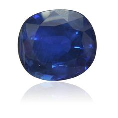 10.20 ct, Sapphire, Cushion, Royal Blue. Vivid. heated stone. GRS certificate.  We supply certificated sapphire stones from Thailand, Burma, Sri Lanka, Mozambique.  www.thegembank.com. Gemstone business from UK.