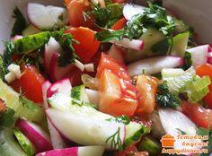 Овощной салат с сельдереем - Готовим вкусно!