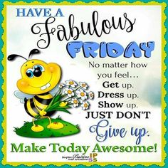 It's Friday! Make it count! Friday Morning Quotes, Happy Friday Quotes, Cute Good Morning Quotes, Good Morning Friday, Morning Greetings Quotes, Morning Inspirational Quotes, Sunday Quotes, Good Morning Messages, Good Morning Good Night