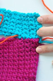 In this how-to series we could move right on from single crochet  to the other stitches (double crochet, half double croche...