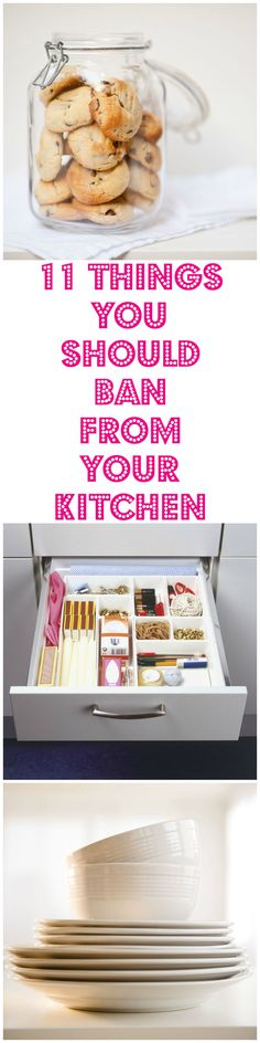 11 things you should never store in your kitchen.