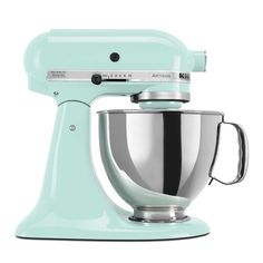 KitchenAid Mixer in Mint