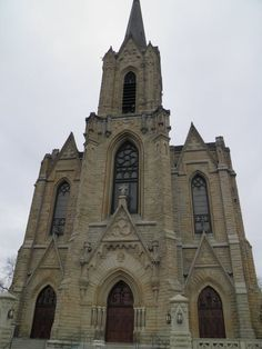 The Historic Catholic church of Saint Patrick Toledo Ohio