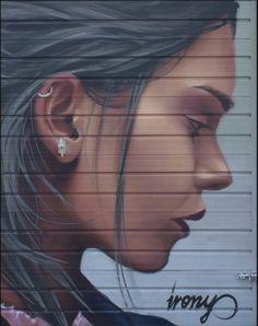Graffiti Designs, Amazing Street Art, South London, Street Art Graffiti, Artist Names, Street Artists, Public Art, Portrait Art, Cartoon Art
