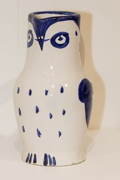 Pablo Picasso (Spanish, 1881-1973), Water Pitcher with Bird Face, 1954. Earthenware, glaze Collection of Tweed Museum of Art, UMD Gift of the Estate of Kathleen O'Brien D2003.mac4.