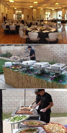 Touch of Paradise is one of the top rated catering companies that service birthdays, anniversaries, baby showers, and more. They have some of the best caterers who prepare mouthwatering catering menus.