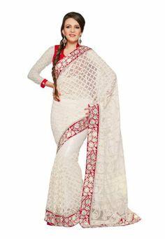 #Fabdealdotcom #Indian #Designer #Net #White #Embroidered #Saree Fabdeal, http://www.amazon.co.uk/dp/B00INWMET2/ref=cm_sw_r_pi_dp_Lirrtb1J1DV80