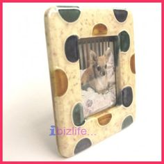 """Love filled Mini Small Ceramic Photo Picture frame gift size 3""""x3.5"""" pf02 ... ♡❤♡❤♡ USE PHOTO FRAMES not only to KEEP the PHOTOs but also the MEMORABLE MOMENTs & LOVERS --- #love #photo #Photoframes #Children #Kids #cat #dog #memorable #portable #family ♡❤♡❤♡"""