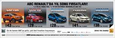 Abc Renault'da Yıl Sonu Fırsatları!