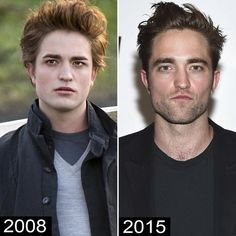 The cast of Twilight: Then And Now (2016)