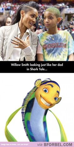 Willow Smith Taking After Her Dad…