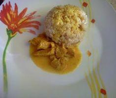 Zdrowo i dietetycznie. Moja rzeczywistość: Dietetyczny kurczak w curry z brązowym ryżem