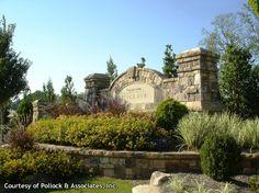 neighborhood entrance landscaping photos | Subdivision & Business Entrance Way Portfolio | Green Acres ...