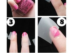 Colorblock Pink Red Nail Tutorial http://www.nailartstyles.com/colorblock-pink-red-nail-tutorial/