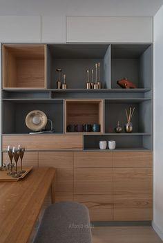 Loft Interior Design, Interior Decorating, Interior Ideas, House Furniture Design, House Design, Office Design Concepts, Interior Staircase, Small Balcony Decor, Shelving Design