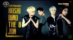 [SEVENTEEN] (Performance Unit) Hoshi, Dino, The8, and Jun