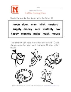 Letter Z Worksheets For Kindergarten  Activity Shelter  Kids