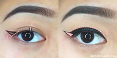 The most classic and iconic eye makeup look has to be winged eyeliner or  the cat-eye. Everyone's got their own unique way of doing their winged  liner but a lot of people have some issues with getting their line down  straight and even. Today, I'm going to share my three  customizabletechnique #wingedlinerlooks