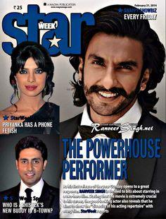 Ranveer Singh Star Magazine 2014