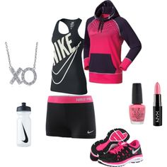 """Nikey"" by sarakd25 on Polyvore"